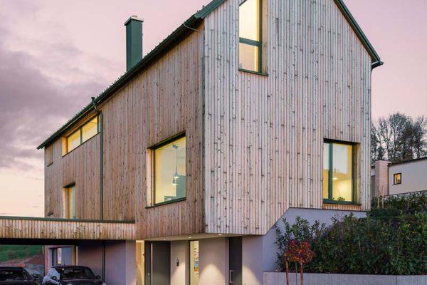 Buchner Holzhaus Beleuchtung Garage