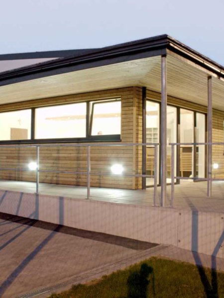 Zubau Freizeitzentrum Kaltenberg 2009