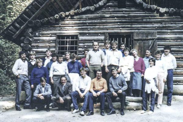 Buchner Betriebsauflug Steiermark 1982