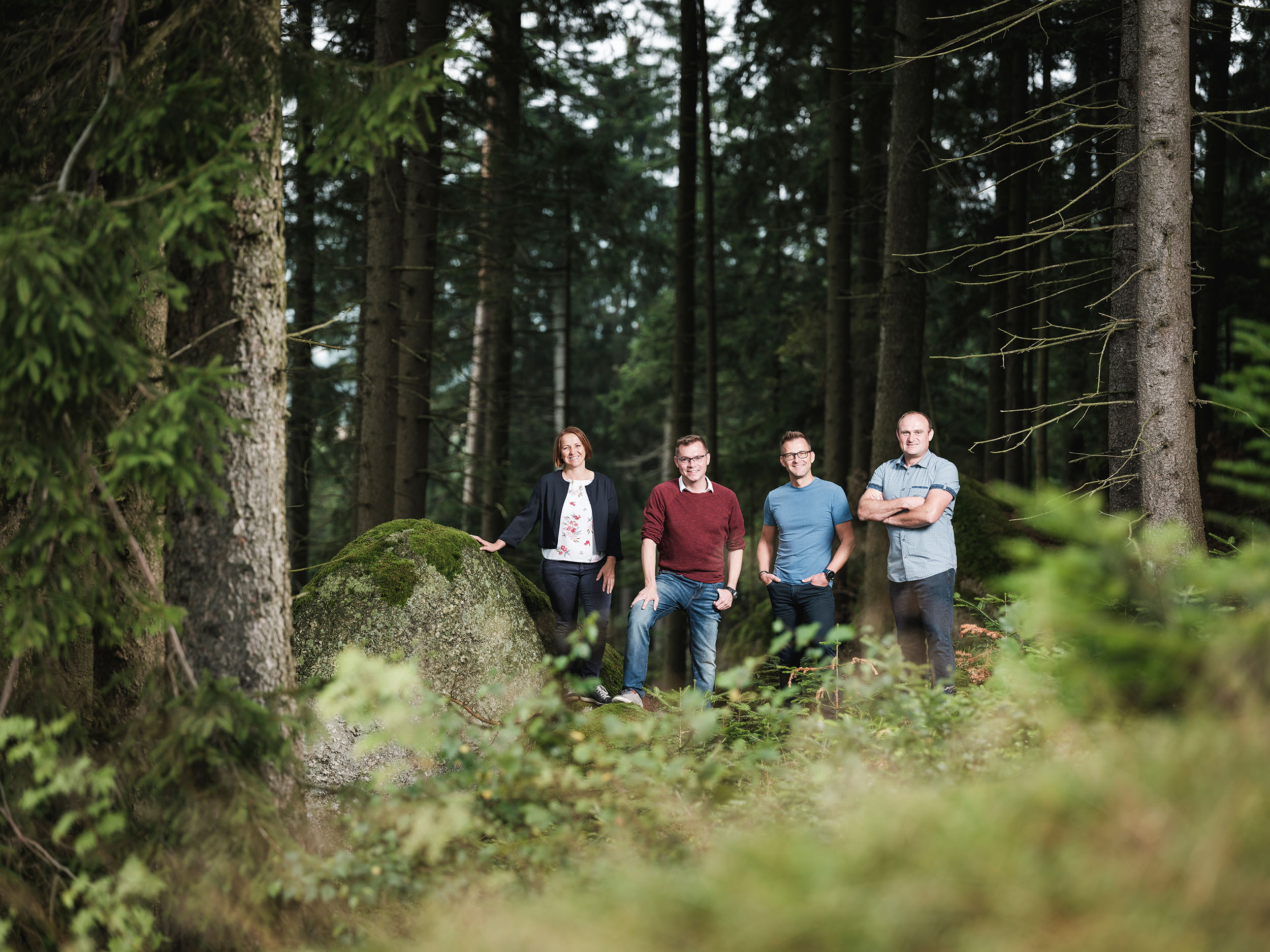 Buchner Geschäftsführung Wald