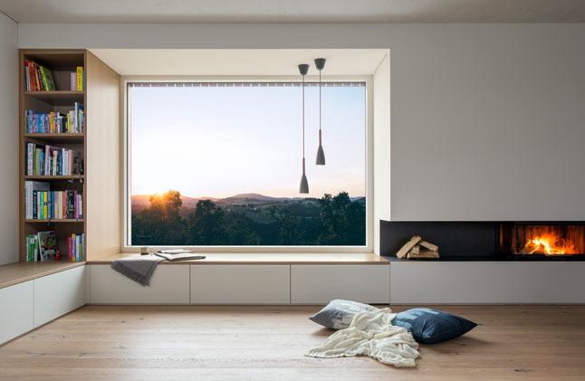 Buchner Haus Interior Aussicht