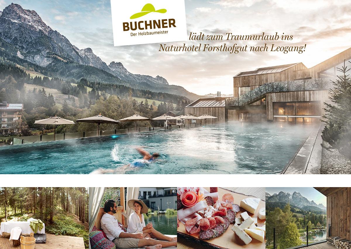 Buchner Traumurlaub im Naturhotel Forsthofgut