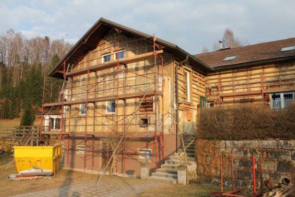 Ökofassade Kern Unterweißenbach 2011