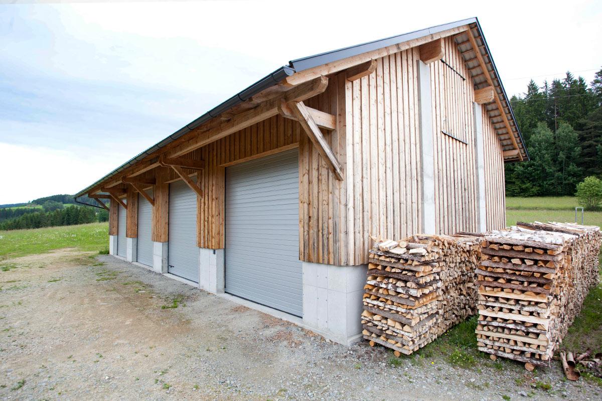Buchner Landwirtschaftliche Bauten Stall Maschinenhalle