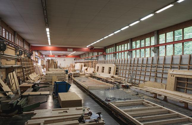 Buchner Produktionshalle