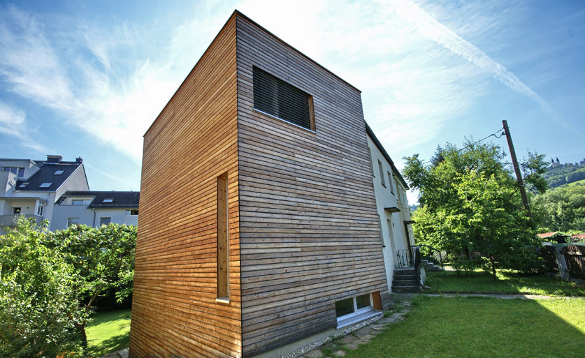 Buchner Holzhaus Zubau