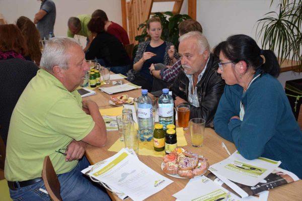 Baufamilienabend Buffet Getränke Buchner Oberösterreich