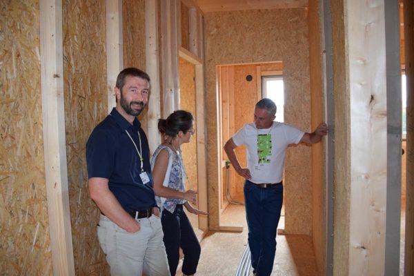 Buchner Holzbau Besichtigung