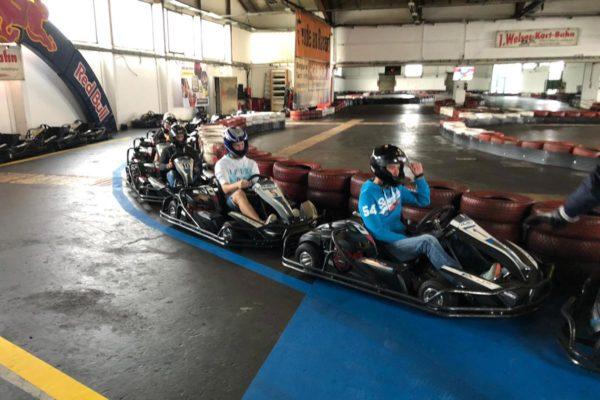 Lehrlingstag Cartfahren
