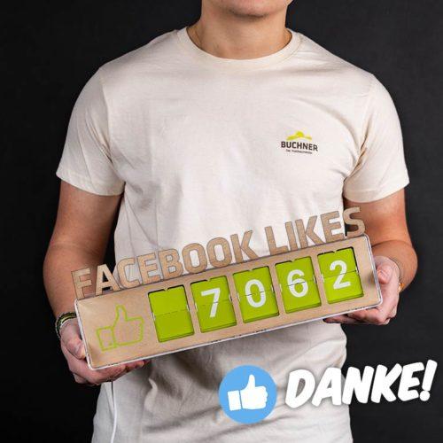7000 Facebook Likes